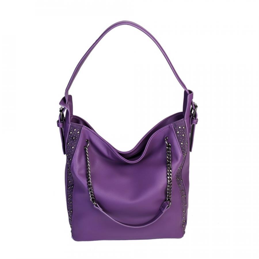 Сумка женская CS-957 фиолетовая