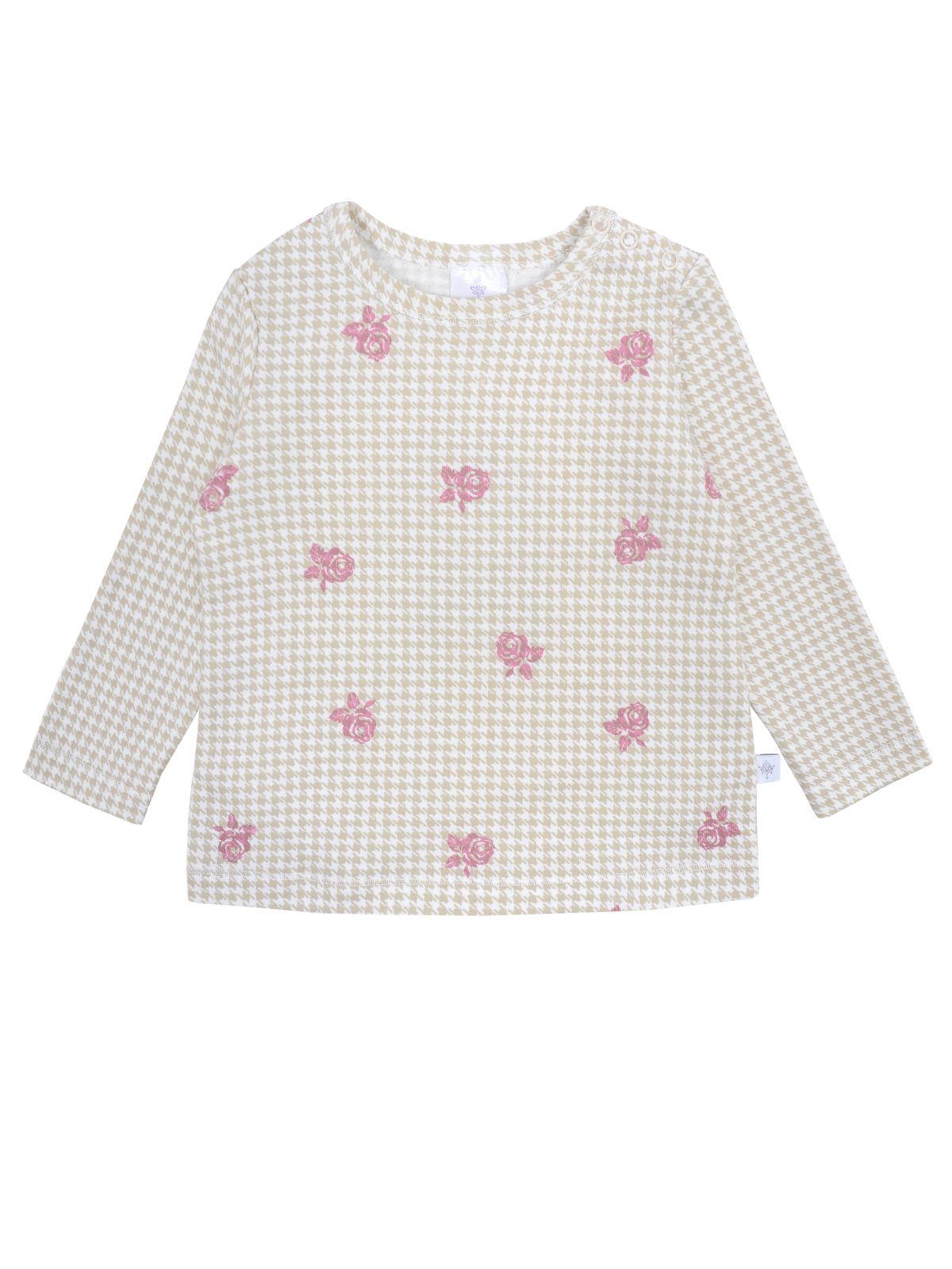 Купить Джемпер для девочки Мамуляндия 19-844 Интерлок, Бежевый р.92, Кофточки, футболки для новорожденных