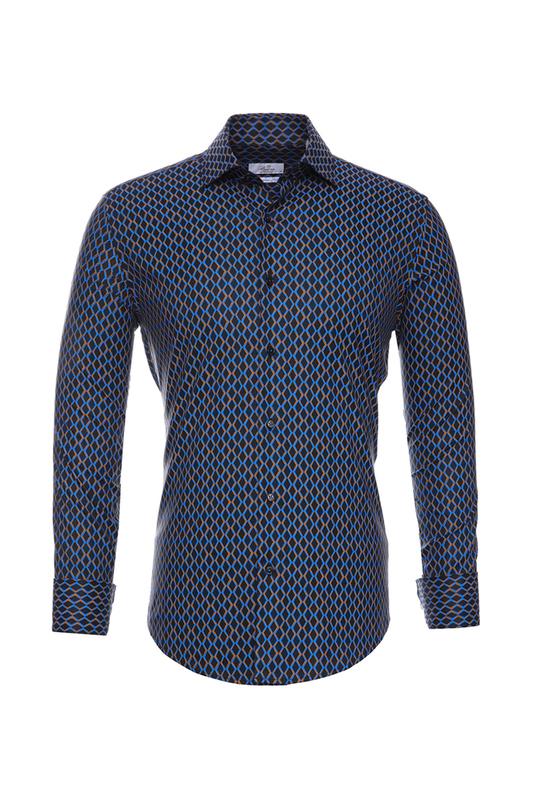 Рубашка мужская BAWER RZ2412068-03 черная S