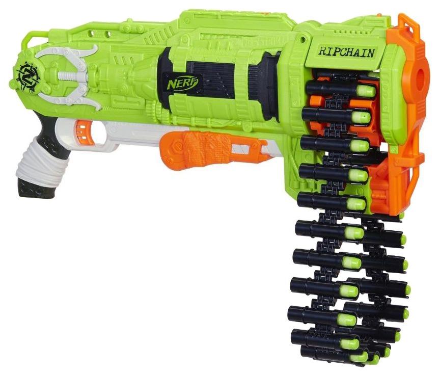 Купить Бластер Hasbro Nerf Зомби Цепевик E2146, Бластеры