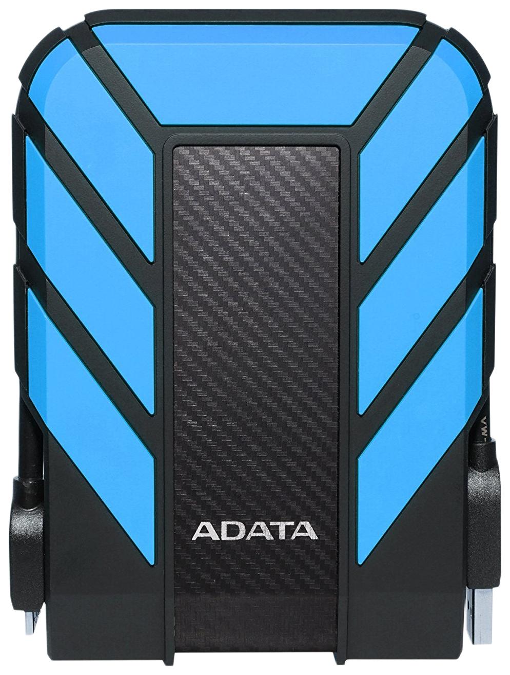 Внешний диск HDD ADATA 1TB Blue/Black (AHD710P