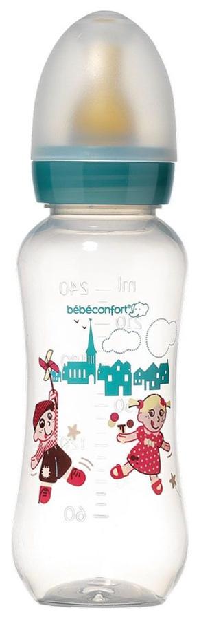 Бутылочка для кормления Bebe Confort Classic Cirque Village PP 240 мл Мультиколор