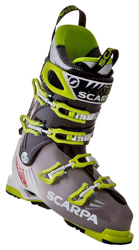 Горнолыжные ботинки Scarpa Freedom 2015, желтые/черные, 29.5