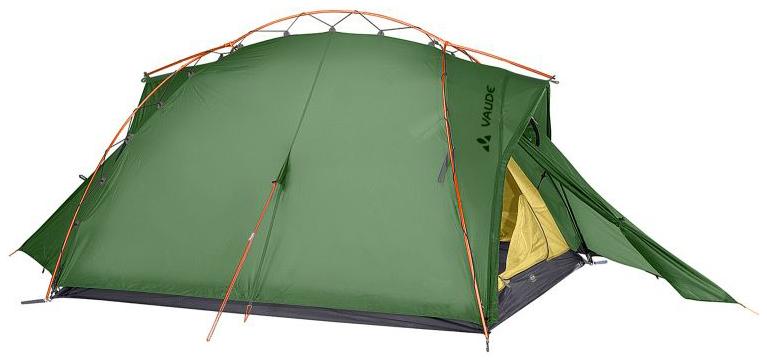 Палатка VauDe Mark трехместная зеленая