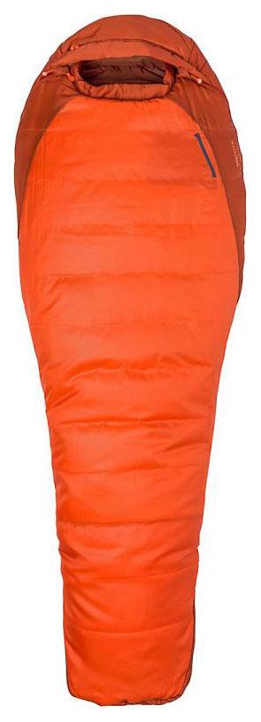 Спальный мешок Marmot Trestles Long оранжевый, левый