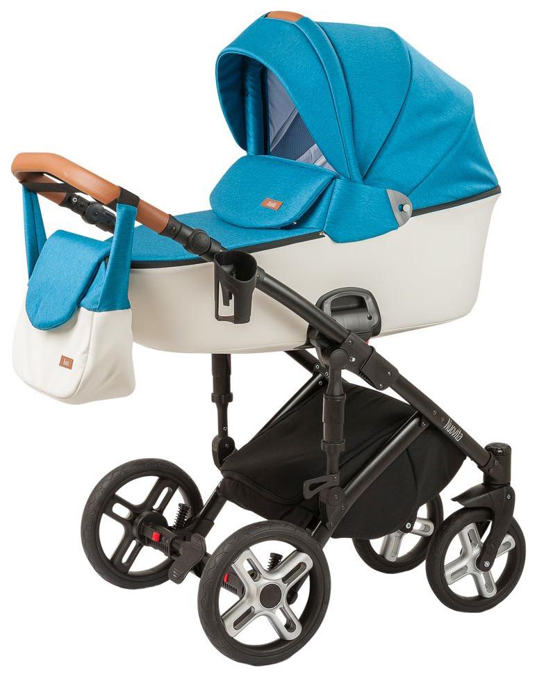 Купить Коляска 2 в 1 Nuovita Carro Sport Blu bianco, Детские коляски 2 в 1