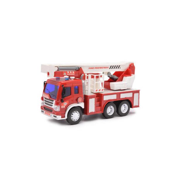 Купить Машина Пожарная (с лестницей), 1:16 световые и звуковые эффекты ABtoys, Спецслужбы
