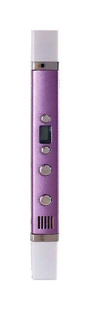 3D ручка Myriwell RP-100С с дисплеем 4338161 Фиолетовый Металлик.