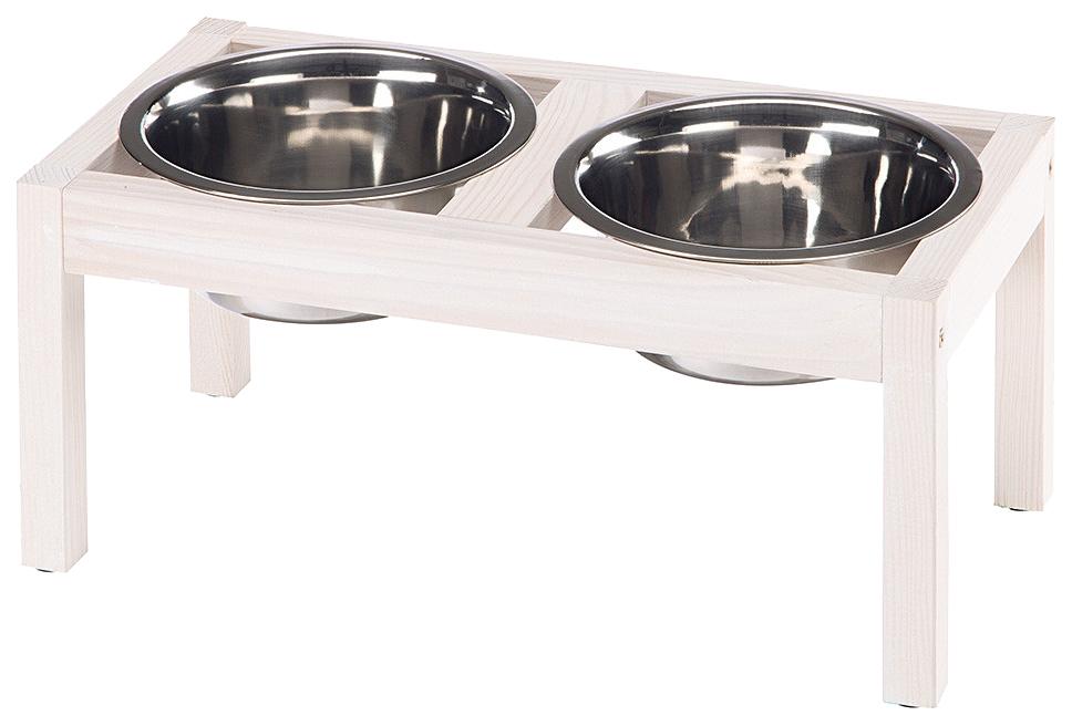 Двойная миска для кошек и собак Ferplast,