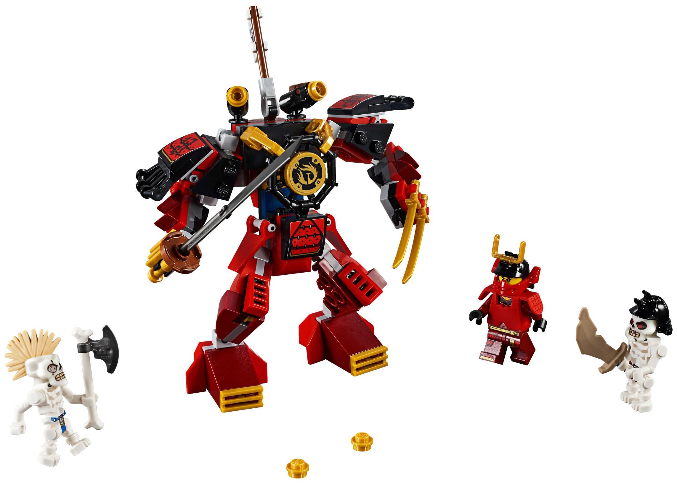 Конструктор LEGO Ninjago 70665 Робот самурай