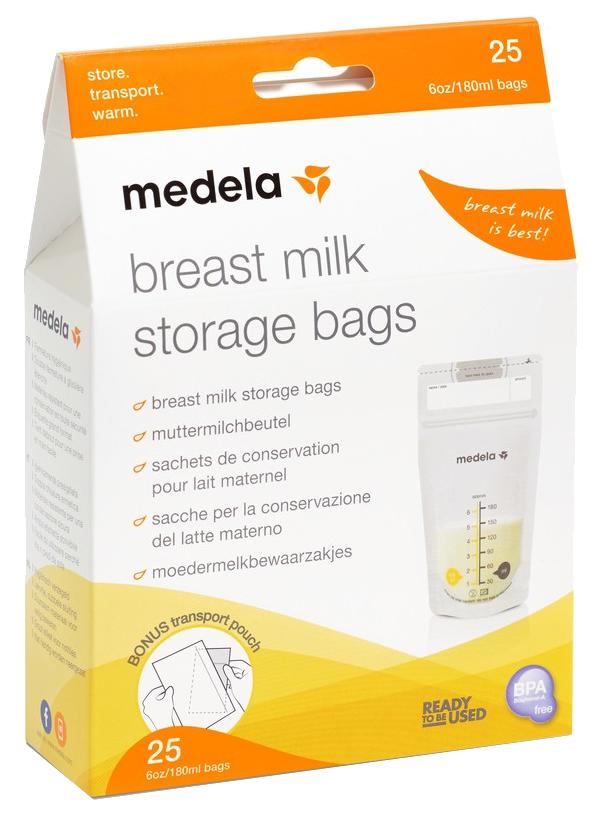 Пакеты одноразовые Medela для хранения грудного молока 25 шт. фото