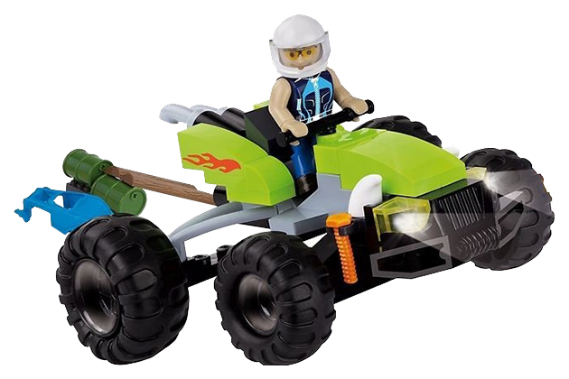 Купить Конструктор пластиковый COBI Автомобиль ATV Competition, Конструкторы пластмассовые