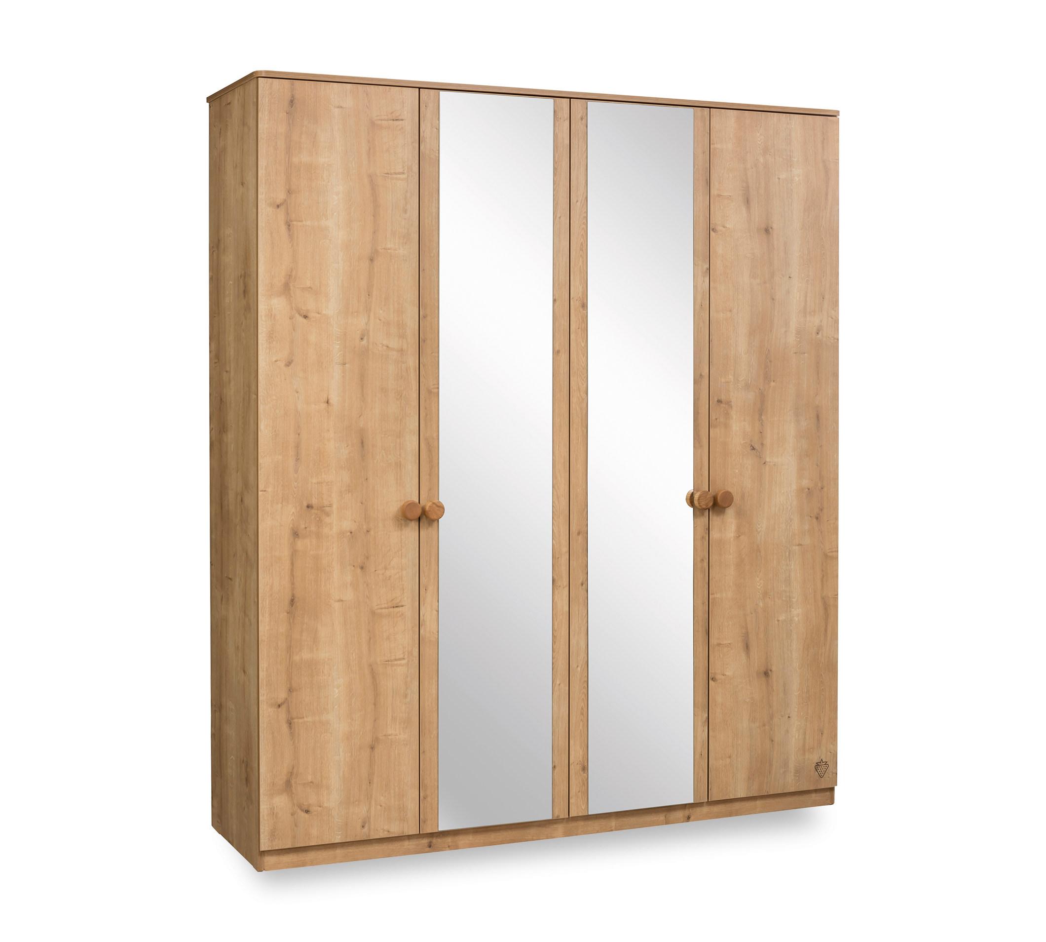Купить Шкаф Cilek Natura четырехдверный, Шкафы в детскую комнату
