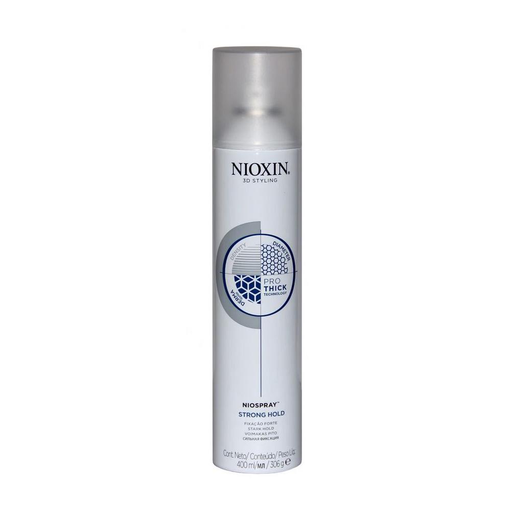 Купить Лак для волос Nioxin 3D Styling Niospray Strong Hold 400 мл