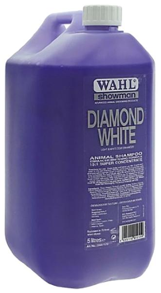 Шампунь для кошек и собак MOSER Wahl Diamond White для светлых окрасов, концентрат, 5 л