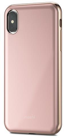 Чехол-накладка Moshi iGlaze 99MO101301 для Apple iPhone X (Pink)