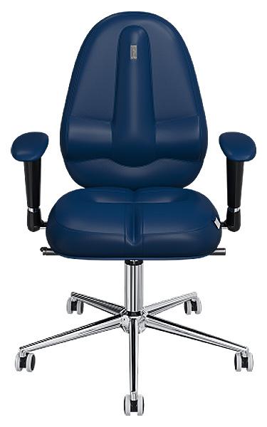 Офисное кресло Kulik System Classic Maxi, экокожа, Синий