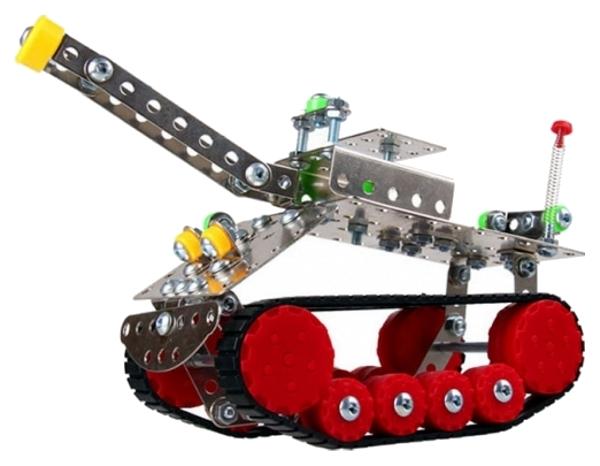 Конструктор металлический Iron Commander Танк, 209 дет.