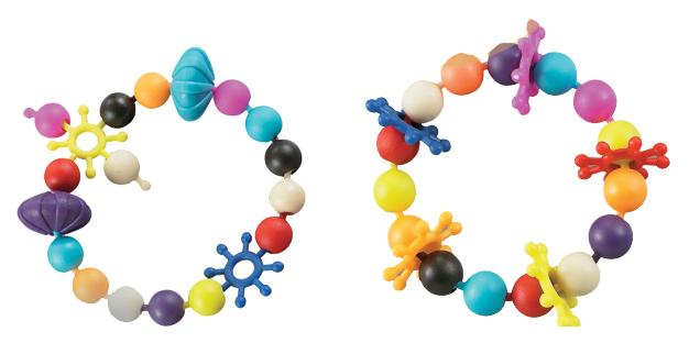 Набор бусин для создания браслетов Funny Bracelet H.M. Toys