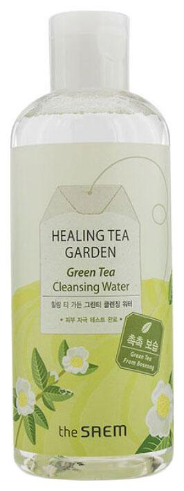 Купить Тоник для лица The Saem Healing Tea Garden Green Tea Cleansing Water 300 мл