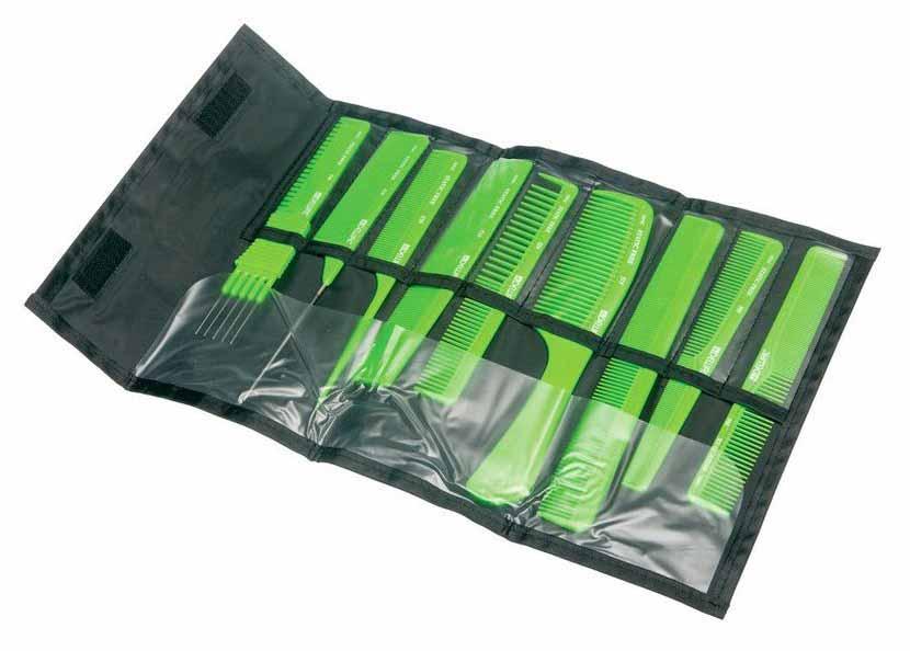 Расческа Dewal CO 9 Light Зеленый