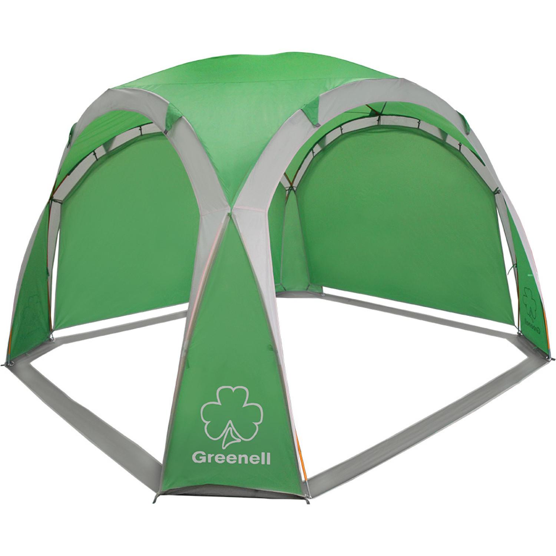 Тент Greenell Пергола 95973 зеленый/серый