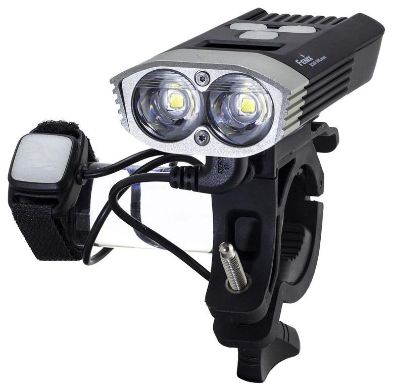 Велосипедный фонарь передний Fenix BC30R серебристый/черный BC30R по цене 11 490