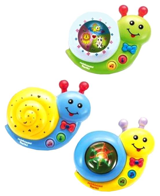 Купить Интерактивная игрушка Shantou Gepai Улитка музыкальная, Интерактивные игрушки