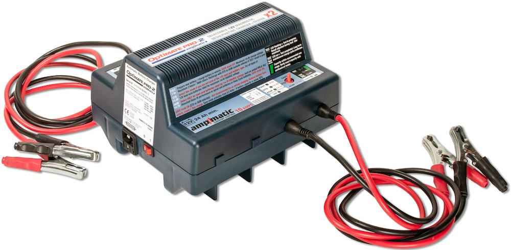 Зарядное устройство OptiMate PRO-2х10А (2x10A - 12V), TS184