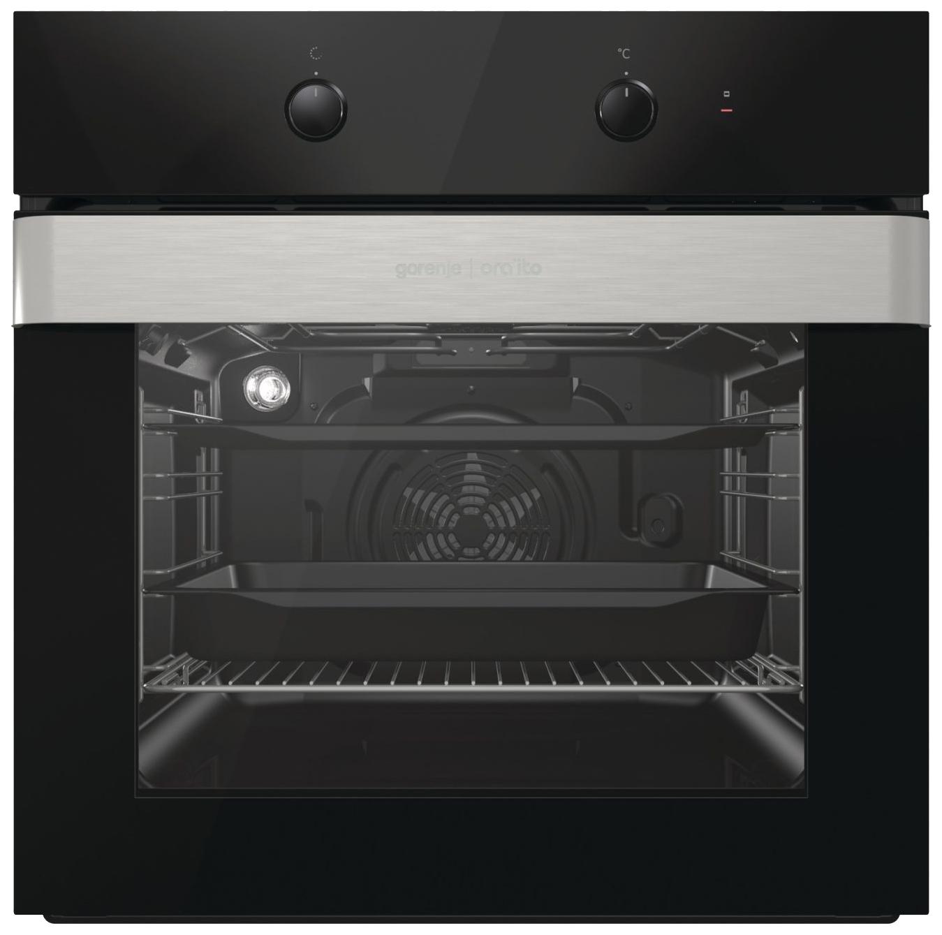Встраиваемый электрический духовой шкаф Gorenje BO717ORAB Black фото