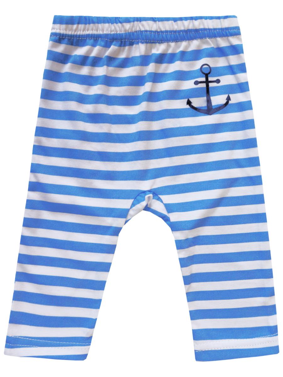 Купить Брюки детские КотМарКот К морю р.74 голубой, Брюки для новорожденных