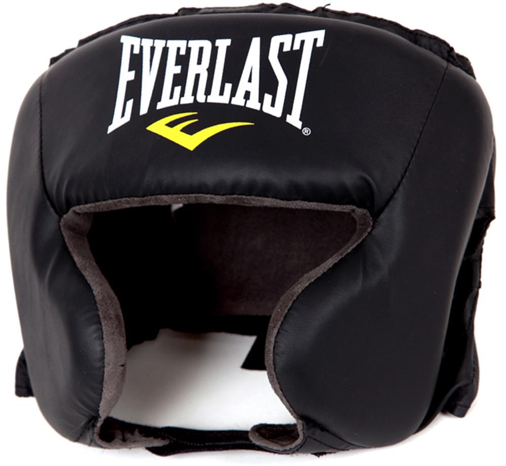 Боксерский шлем Everlast Durahide 4022U черный