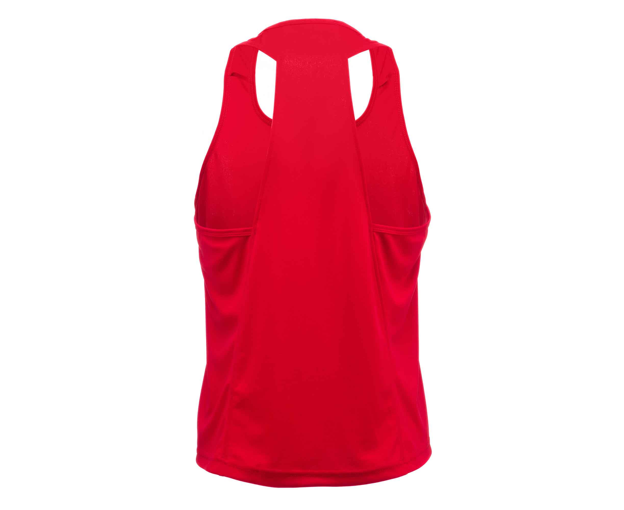 Майка боксерская Adidas Clinch Olimp красная 140