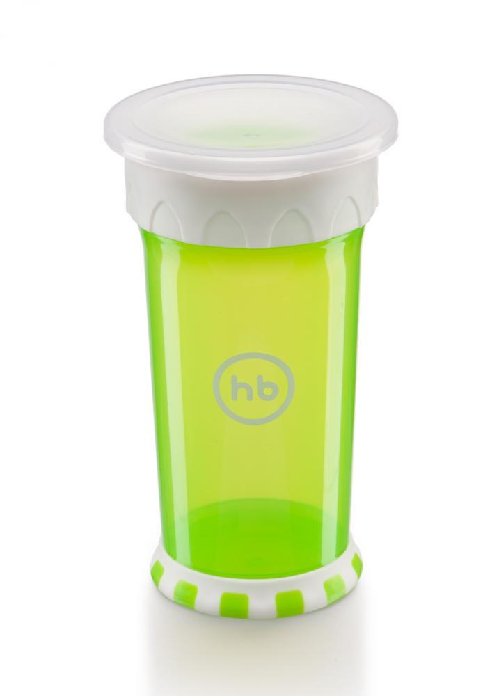 Happy baby кружка-поильник 350 мл цвет зеленый фото