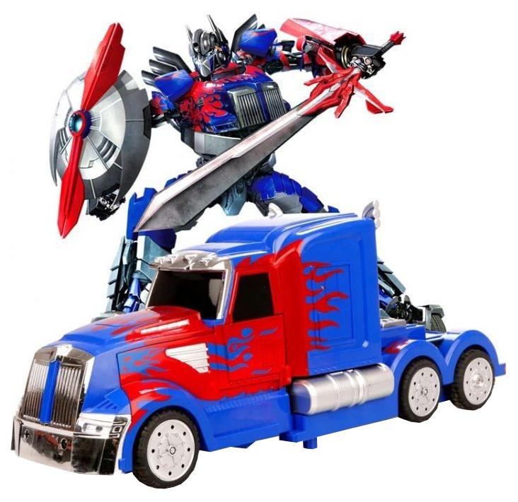Радиоуправляемый робот трансформер Meizhi Optimus Prime 1/14