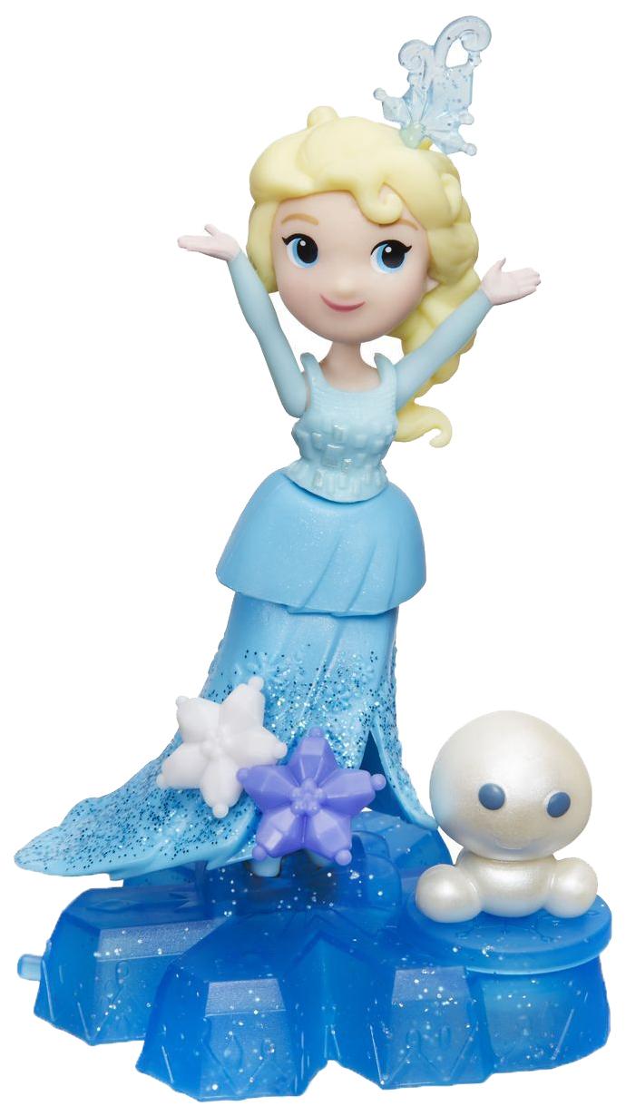 Купить Кукла Disney Princess Холодное сердце на платформе-снежинке маленькая B9249,
