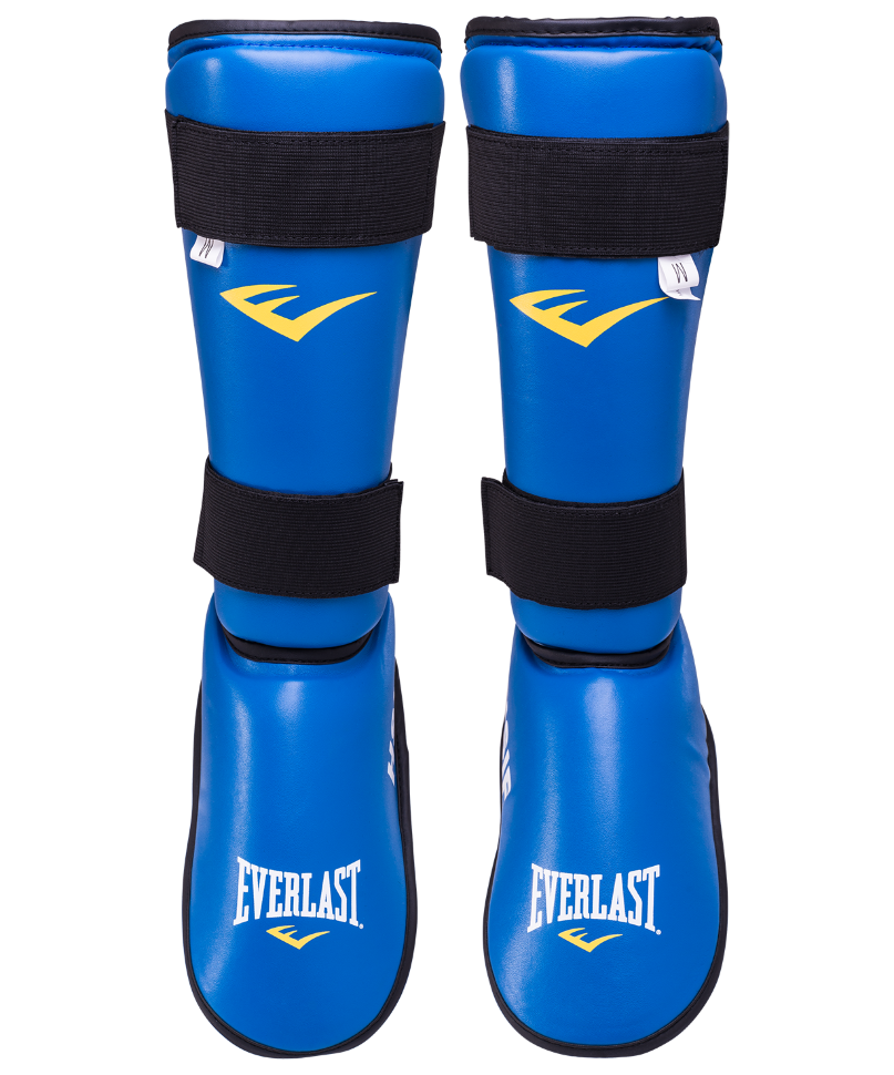 Защита голень стопа HSIF RF7250, синий, L
