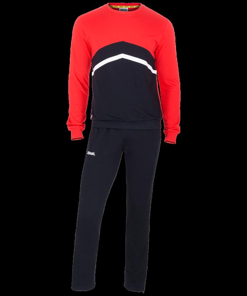Спортивный костюм Jogel JCS-4201-621, черный/красный/белый, L INT