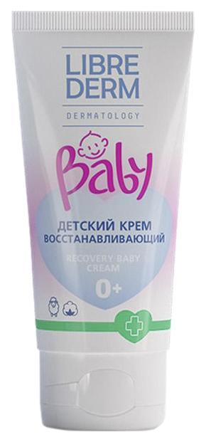 Купить Крем детский Librederm Baby Восстанавливающий с ланолином и экстрактом хлопка 50 мл, Детский крем
