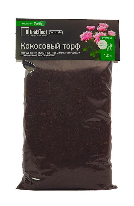 Кокосовый торф UltraEffect BioLine 1,2 л