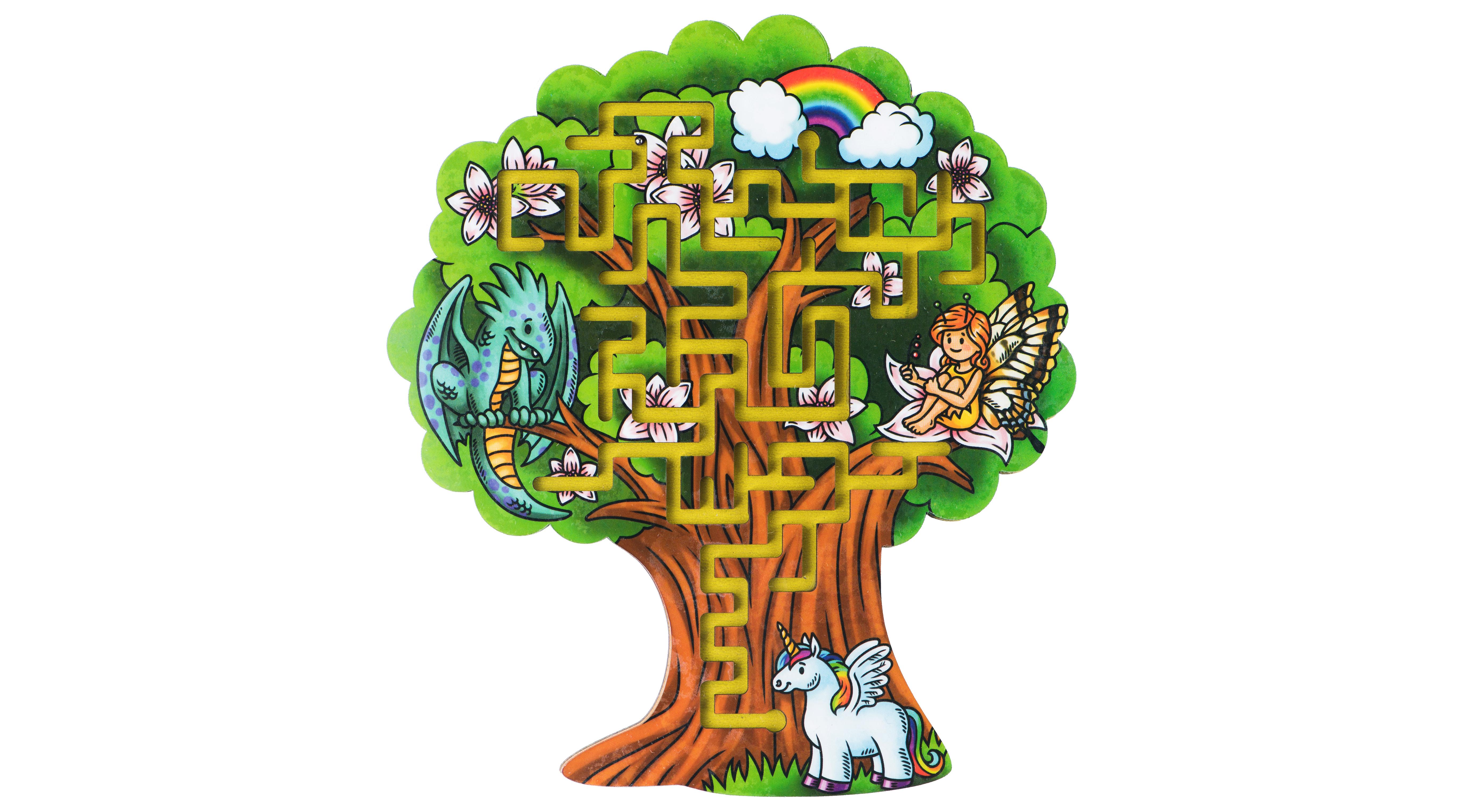 Купить Лабиринт Большой слон Дерево, Деревянные лабиринты