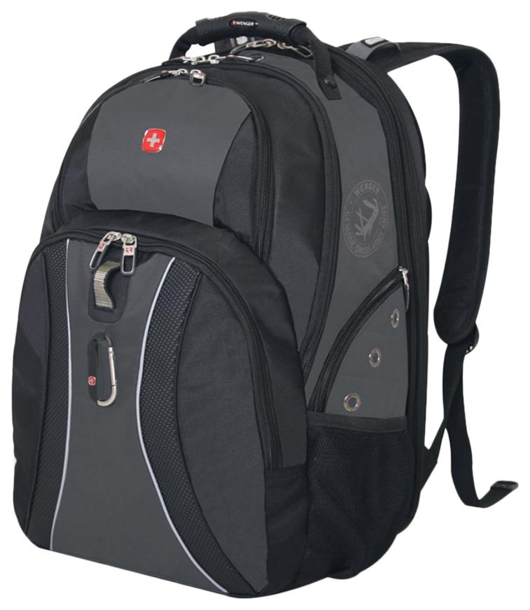 Рюкзак Wenger 12704215 черный/серый 36 л