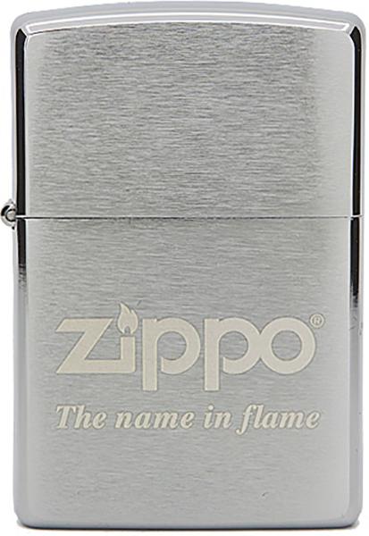 ZIPPO №200 NAME IN FLAME