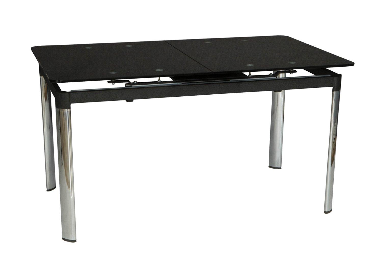 Кухонный стол Hoff 76х181х85 см, черный