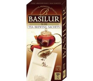 Фильтр-пакеты Basilur для заваривания листового чая 80 шт
