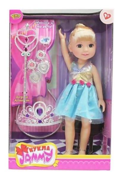Shantou Gepai Кукла джемми 32 см красотка 5 аксессуарами Shantou Gepai M6533, Классические куклы  - купить со скидкой
