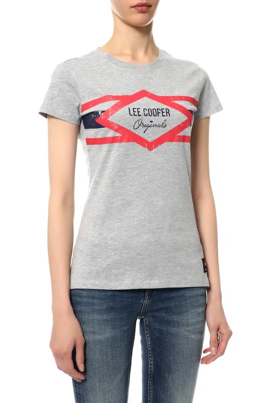 Футболка женская Lee cooper MT4A113715AS2LC/GM черная L