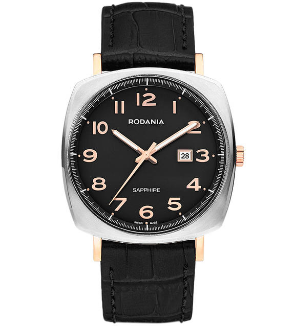 Наручные часы кварцевые мужские Rodania Montreal 2512427.