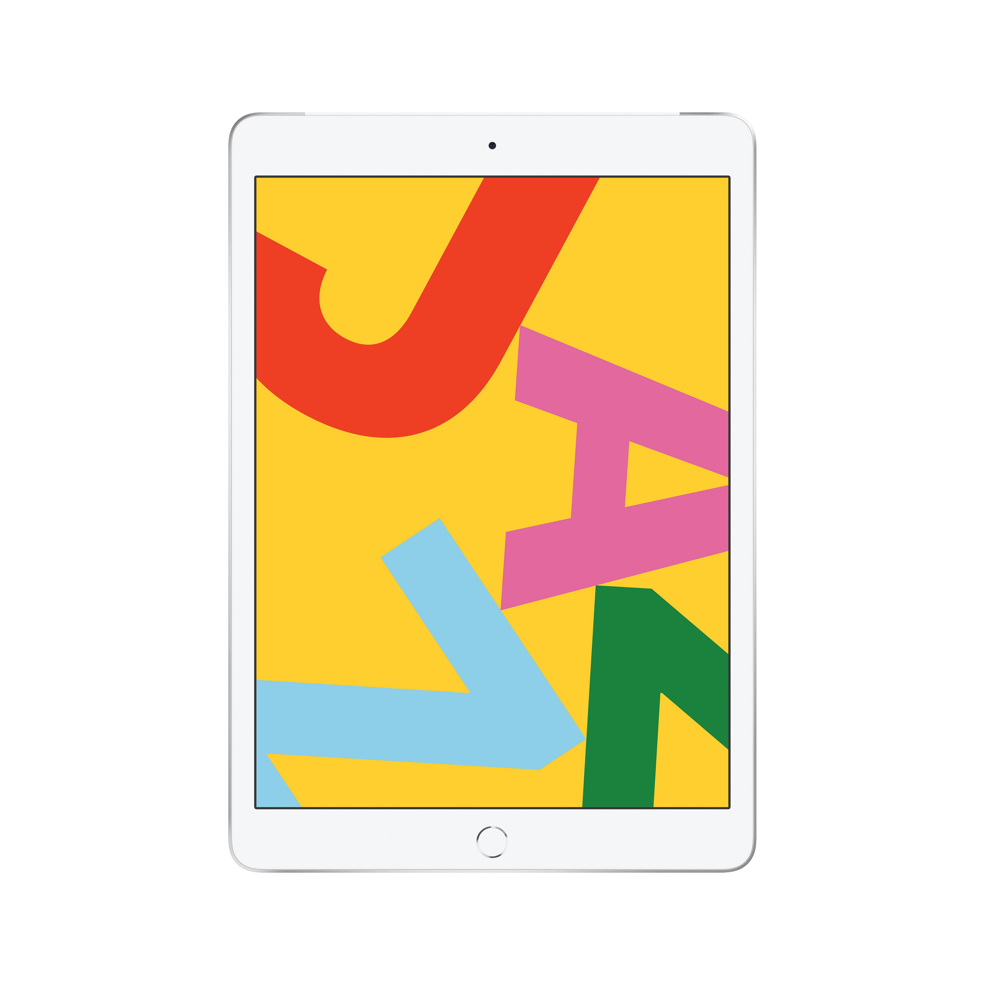 Планшет Apple iPad (2019 New) Wi-Fi + Cellular 10.2 128 GB Silver (MW6F2RU/A) фото