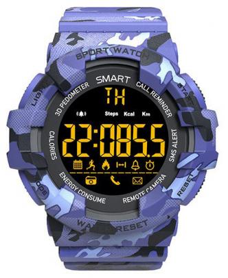 CARCAM SMART WATCH EX16M - BLUE  - купить со скидкой
